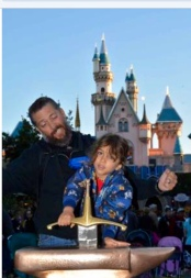 Third Birthday at Disneyland