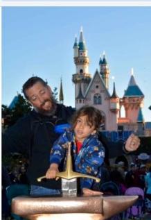 Third Birthday at Disneyland
